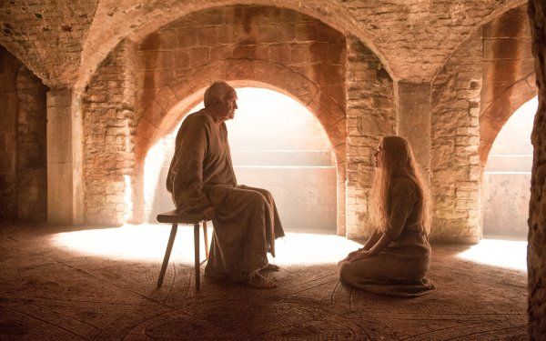TV Show Game Of Thrones High Sparrow Cersei Lannister Jonathan Pryce Lena Headey HD Wallpaper | Background Image