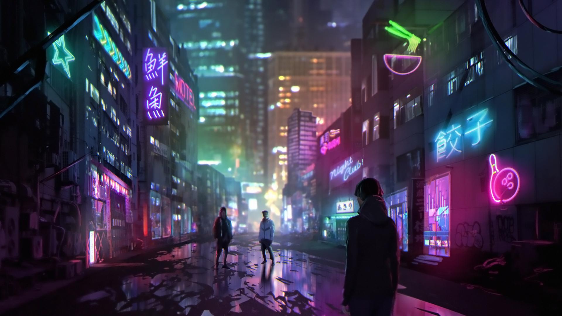 Cyberpunk Hd Wallpaper Background Image 1920x1080 Id