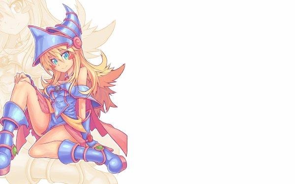 Anime Yu-Gi-Oh! Dark Magician Girl HD Wallpaper   Background Image
