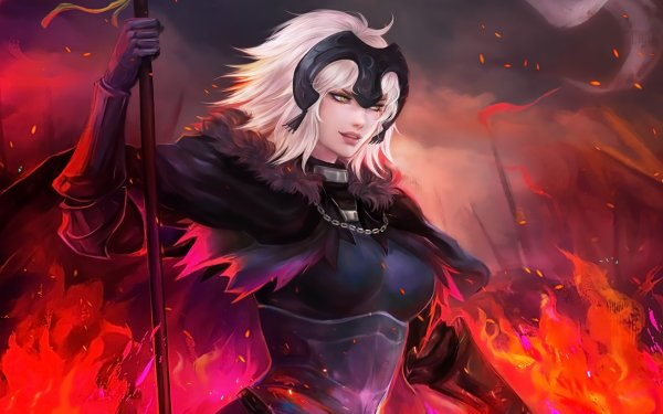 Anime Fate/Grand Order Fate Series Jeanne d'Arc HD Wallpaper | Background Image