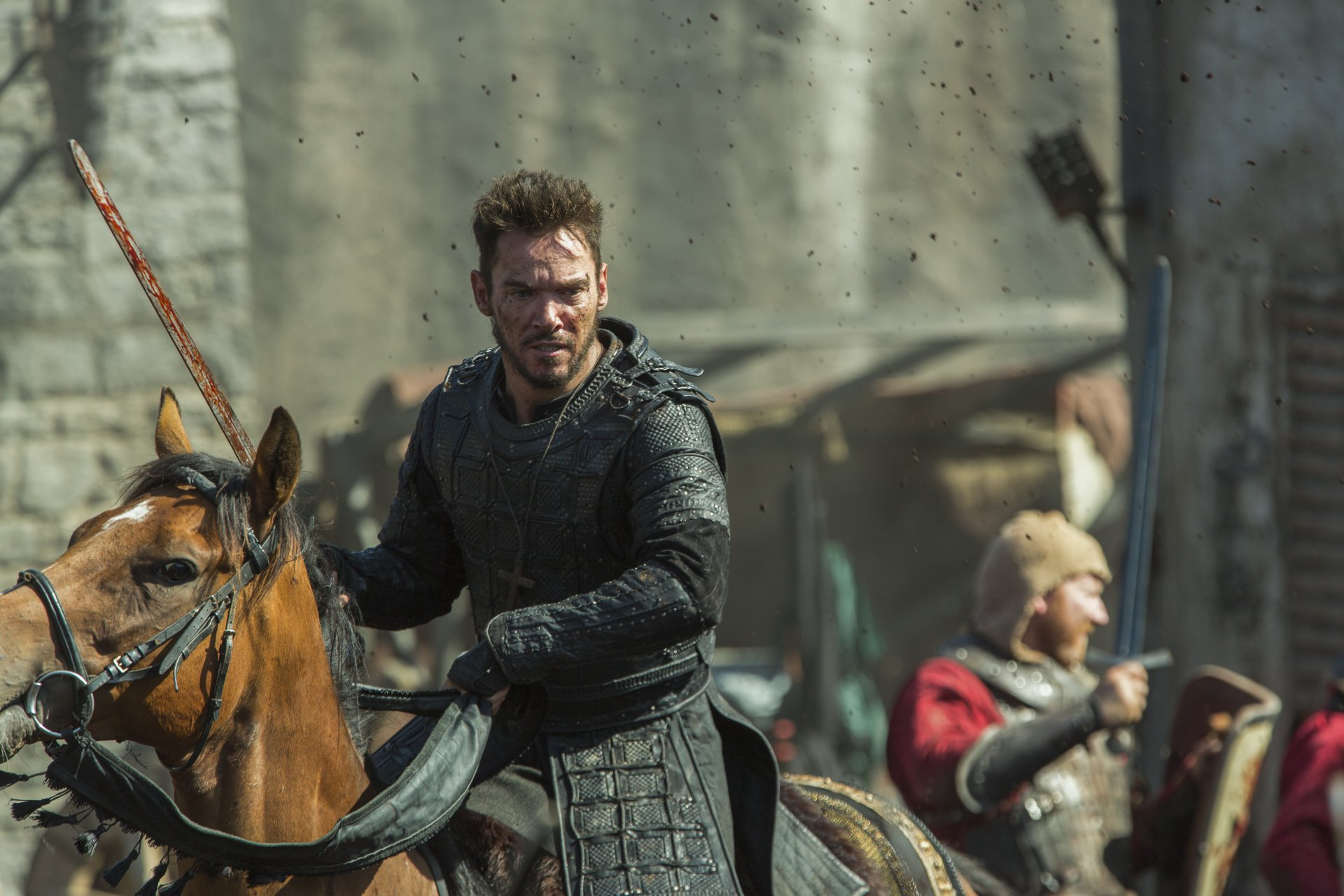 TV Show - Vikings  Jonathan Rhys Meyers Heahmund (Vikings) Wallpaper