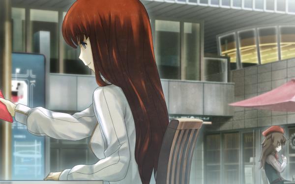 Anime Steins;Gate Yuki Amane Itaru Hashida Kagari Shiina Mayuri Shiina HD Wallpaper | Background Image