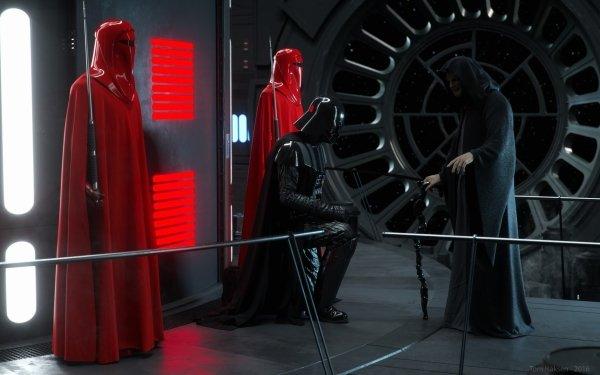 Sci Fi Star Wars Darth Vader Emperor's Royal Guard HD Wallpaper | Background Image