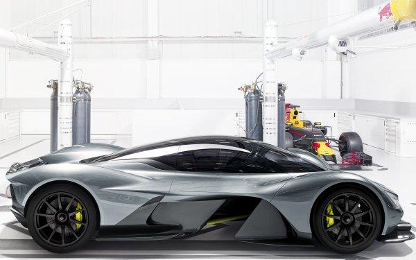 Vehicles Aston Martin Valkyrie Aston Martin Supercar Sport Car Hybrid Car HD Wallpaper   Background Image