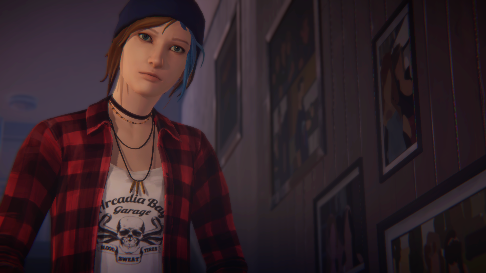 Video Game - Life is Strange: Before The Storm  Chloe Price Blue Hair Wallpaper