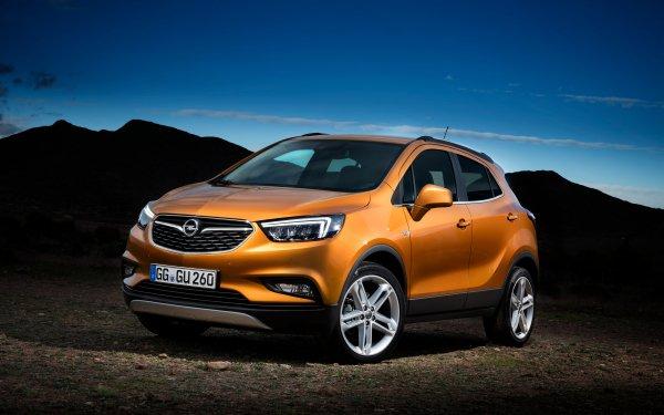 Vehicles Opel Mokka Opel Car Orange Car HD Wallpaper   Background Image