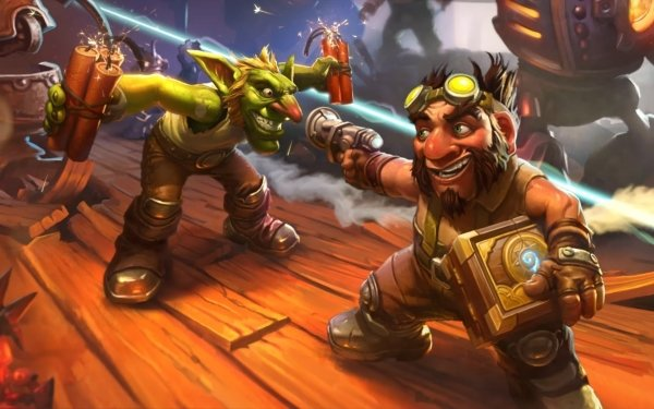 Video Game Hearthstone: Heroes of Warcraft Warcraft TNT Gun Goblin Gnome HD Wallpaper | Background Image