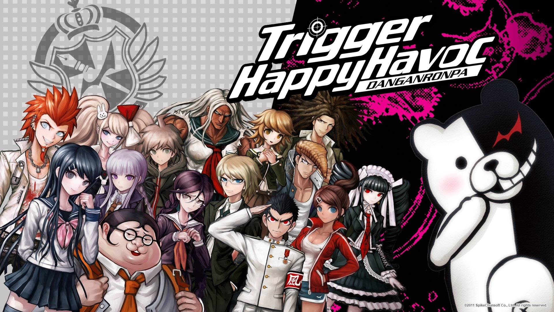 3 danganronpa hd wallpapers background images