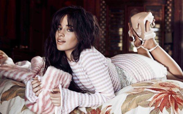 Music Camila Cabello Singers United States Singer Latina Black Hair Brown Eyes High Heels HD Wallpaper | Background Image