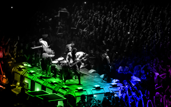 Music Rammstein Band (Music) Germany Colorful Concert HD Wallpaper | Background Image