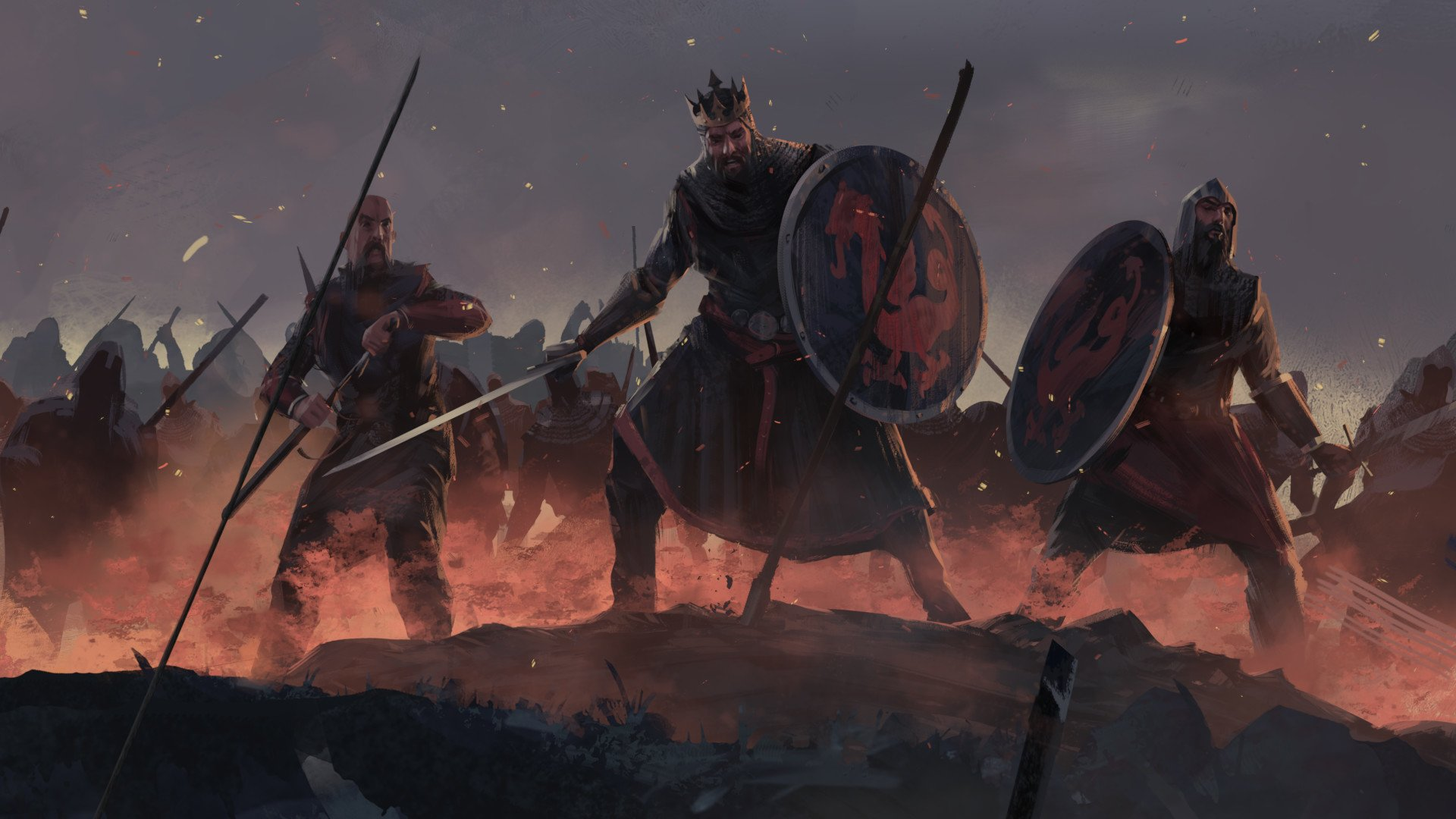 电子游戏 - Total War Saga: Thrones of Britannia  壁纸