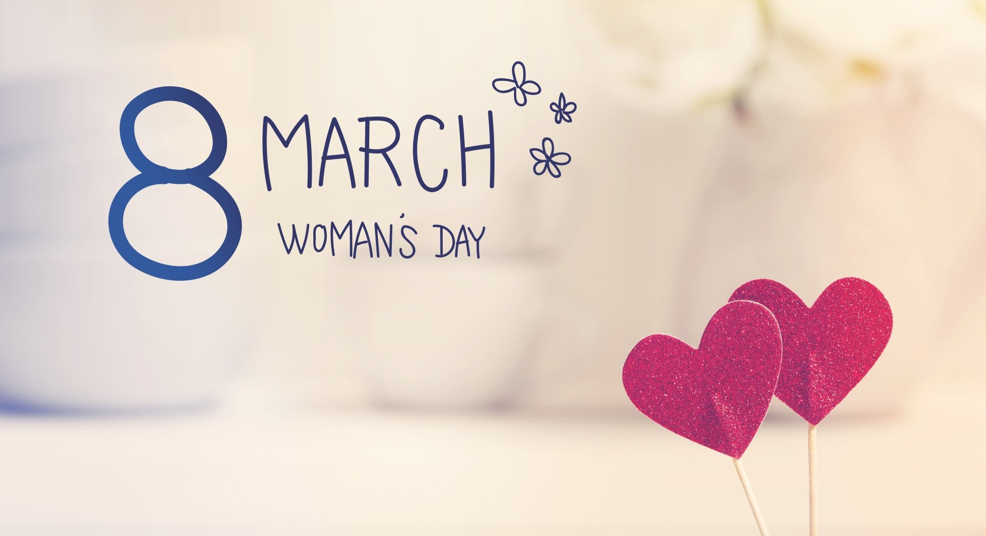 Holiday - Women's Day  Heart Wallpaper