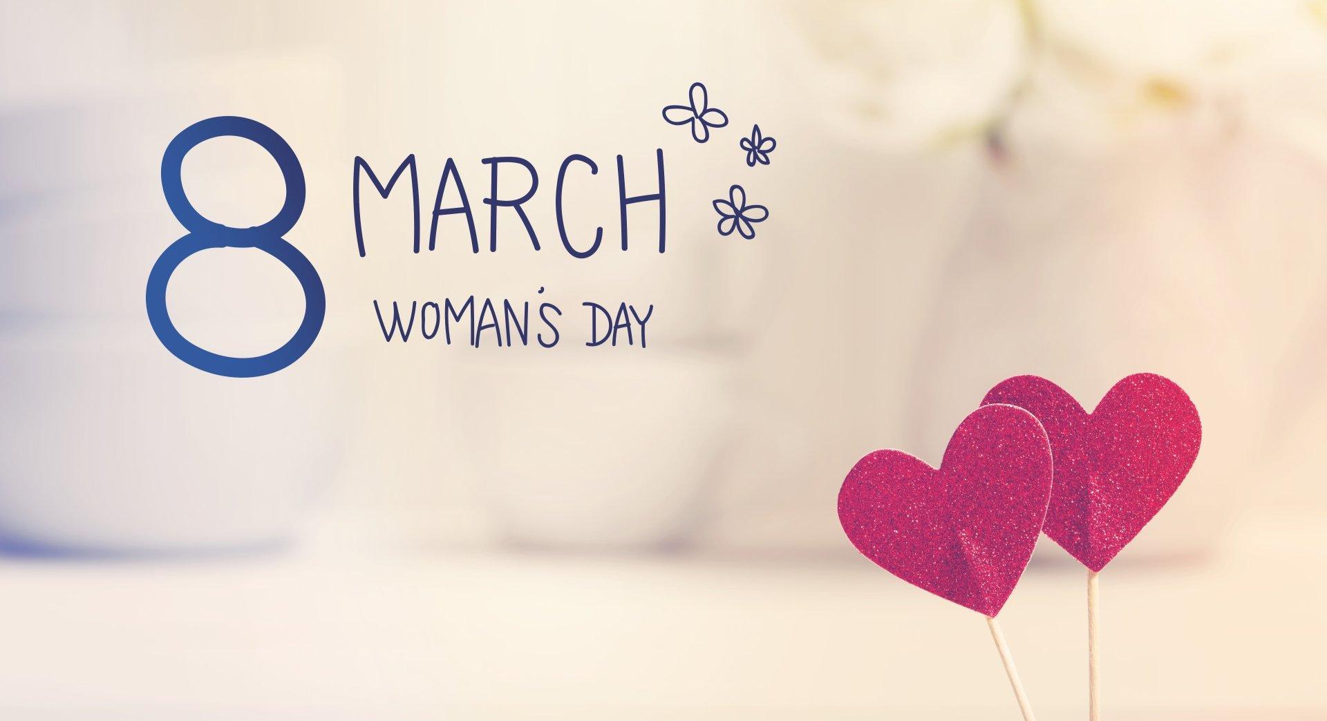 节日 - 妇女节  心形 壁纸