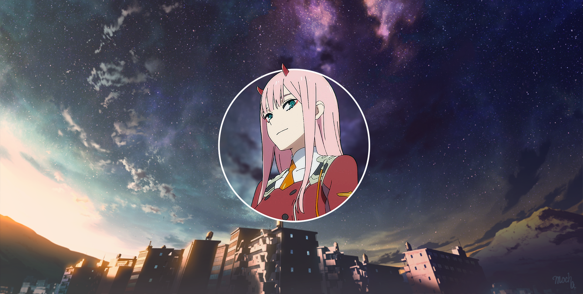 Zero Two Wallpaper and Background Image | 1920x969 | ID ...