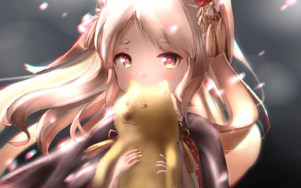 Anime Azur Lane Yuudachi HD Wallpaper   Background Image