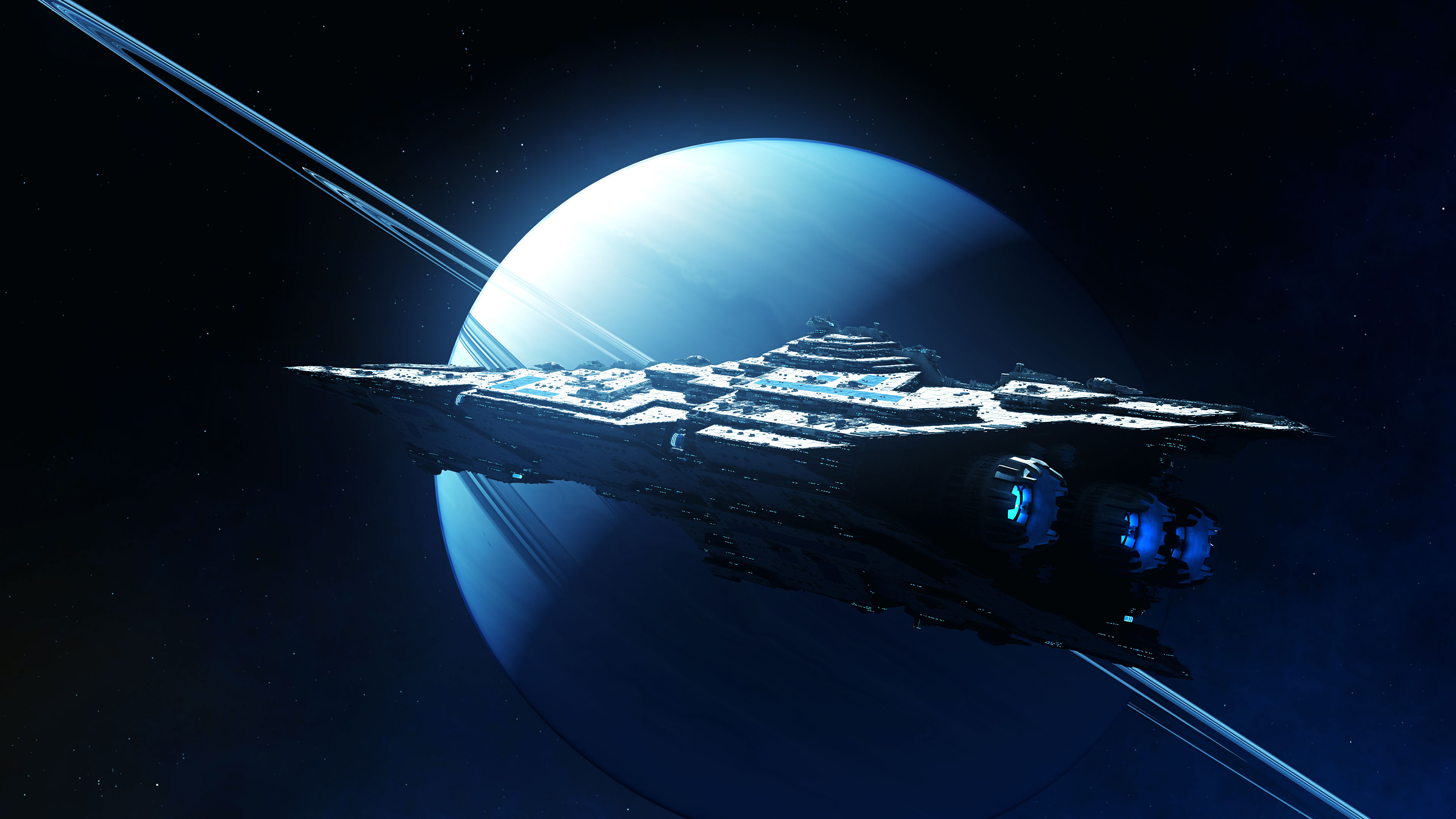 Spaceship 4k Ultra Hd Wallpaper Background Image 3840x2160 Id 903922 Wallpaper Abyss