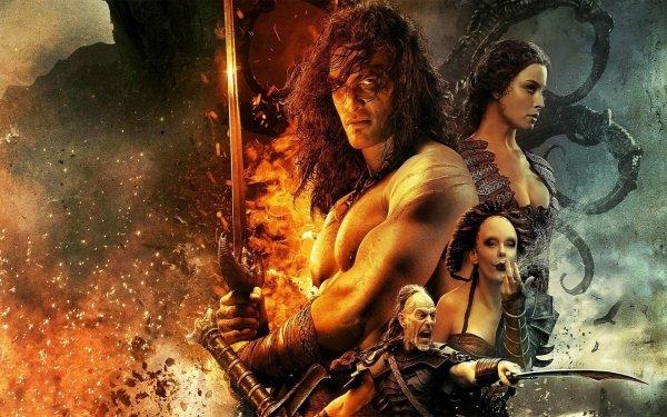Movie Conan the Barbarian (2011) Conan the Barbarian Sword Muscle Jason Momoa Warrior HD Wallpaper | Background Image