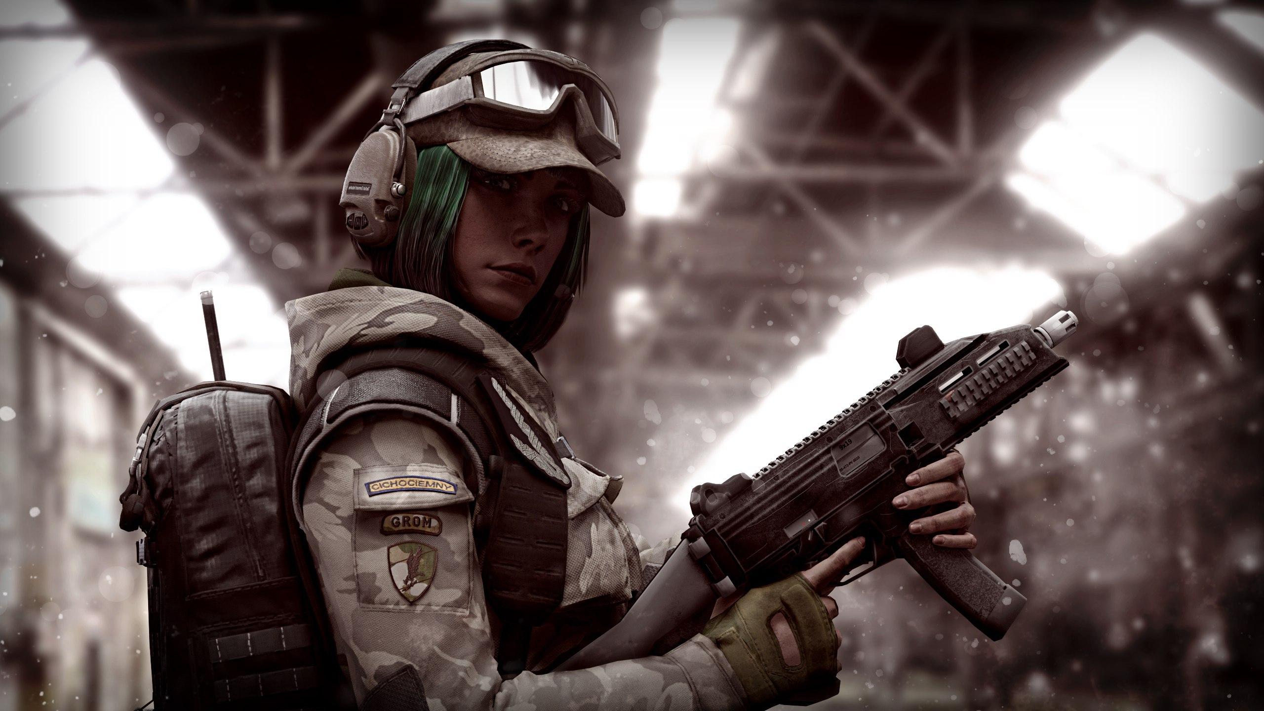 Tom Clancy's Rainbow Six: Siege HD Duvar kağıdı | Arka plan | 2560x1440 |  ID:906767 - Wallpaper Abyss