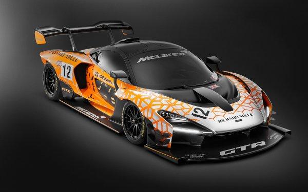 Véhicules McLaren Senna GTR McLaren Concept Car Voiture de course Sport Car Yellow Car Voiture Fond d'écran HD | Image