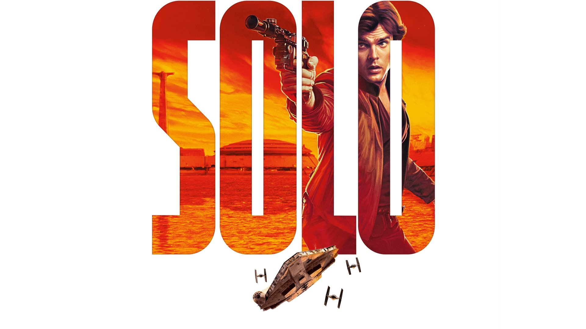 Movie - Solo: A Star Wars Story  Han Solo Star Wars Alden Ehrenreich Wallpaper