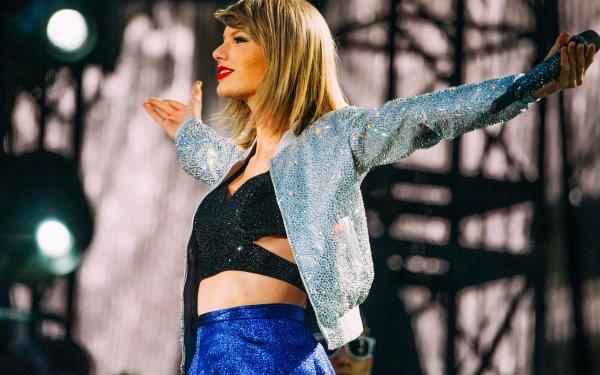 Music Taylor Swift Singers United States Woman Singer Concert Blonde Lipstick Smile Jacket HD Wallpaper | Background Image