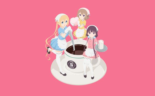 Anime Blend S Kaho Hinata Mafuyu Hoshikawa Maika Sakuranomiya HD Wallpaper | Background Image