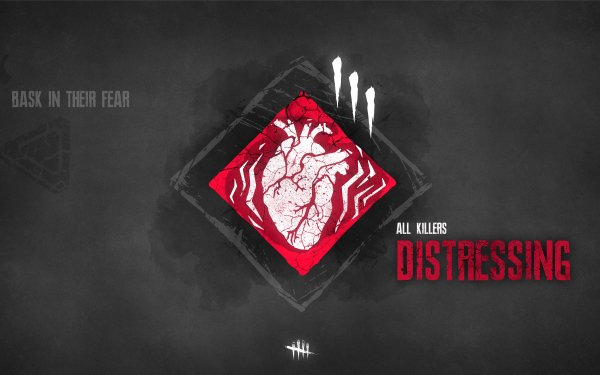 Video Game Dead by Daylight Distressing Minimalist HD Wallpaper | Background Image