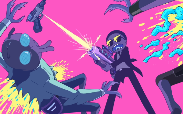 TV Show Rick and Morty Run the Jewels Morty Smith HD Wallpaper | Background Image