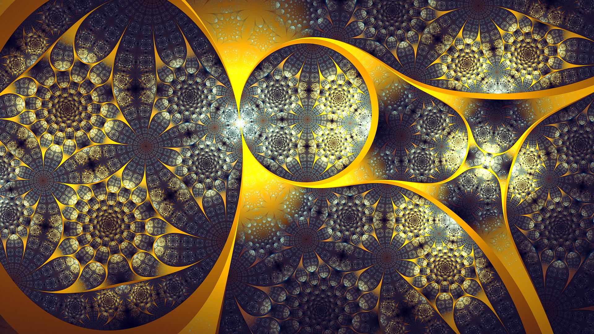 Abstract - Fractal  Artistic Digital Art Wallpaper