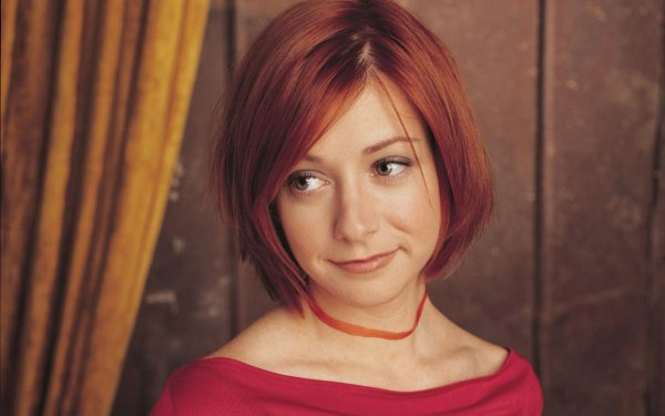 Celebrity Alyson Hannigan Actresses United States Actress Redhead HD Wallpaper | Background Image