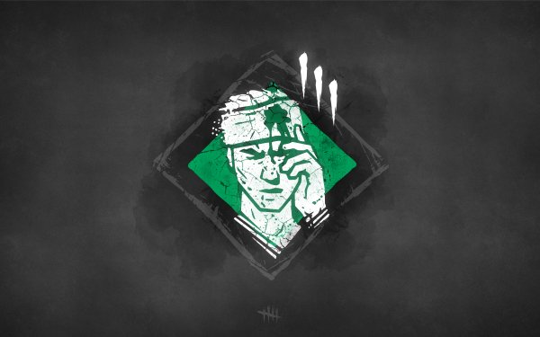 Video Game Dead by Daylight Knock Out Leatherface Minimalist HD Wallpaper | Background Image
