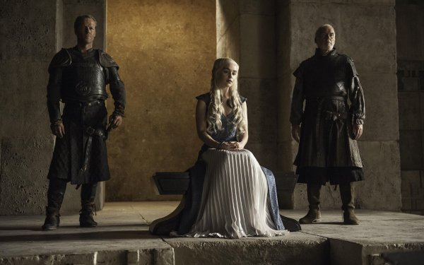 TV Show Game Of Thrones Jorah Mormont Daenerys Targaryen Barristan Selmy Iain Glen Emilia Clarke Ian McElhinney HD Wallpaper | Background Image