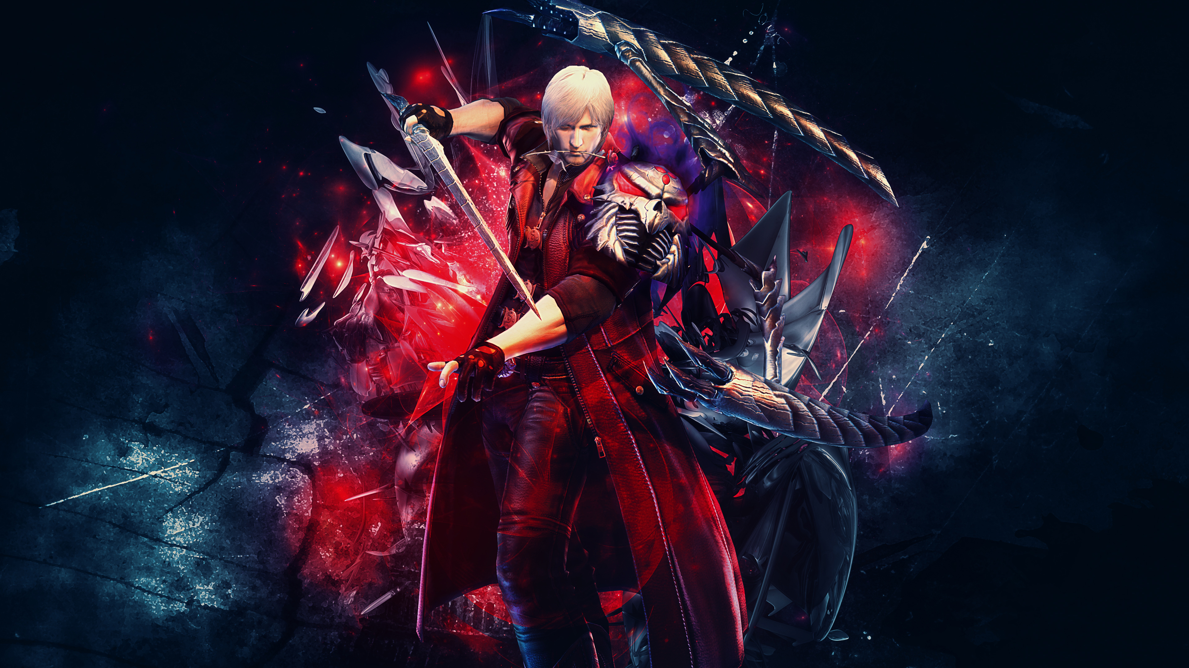 devil may cry 4 4k ultra hd wallpaper and background image