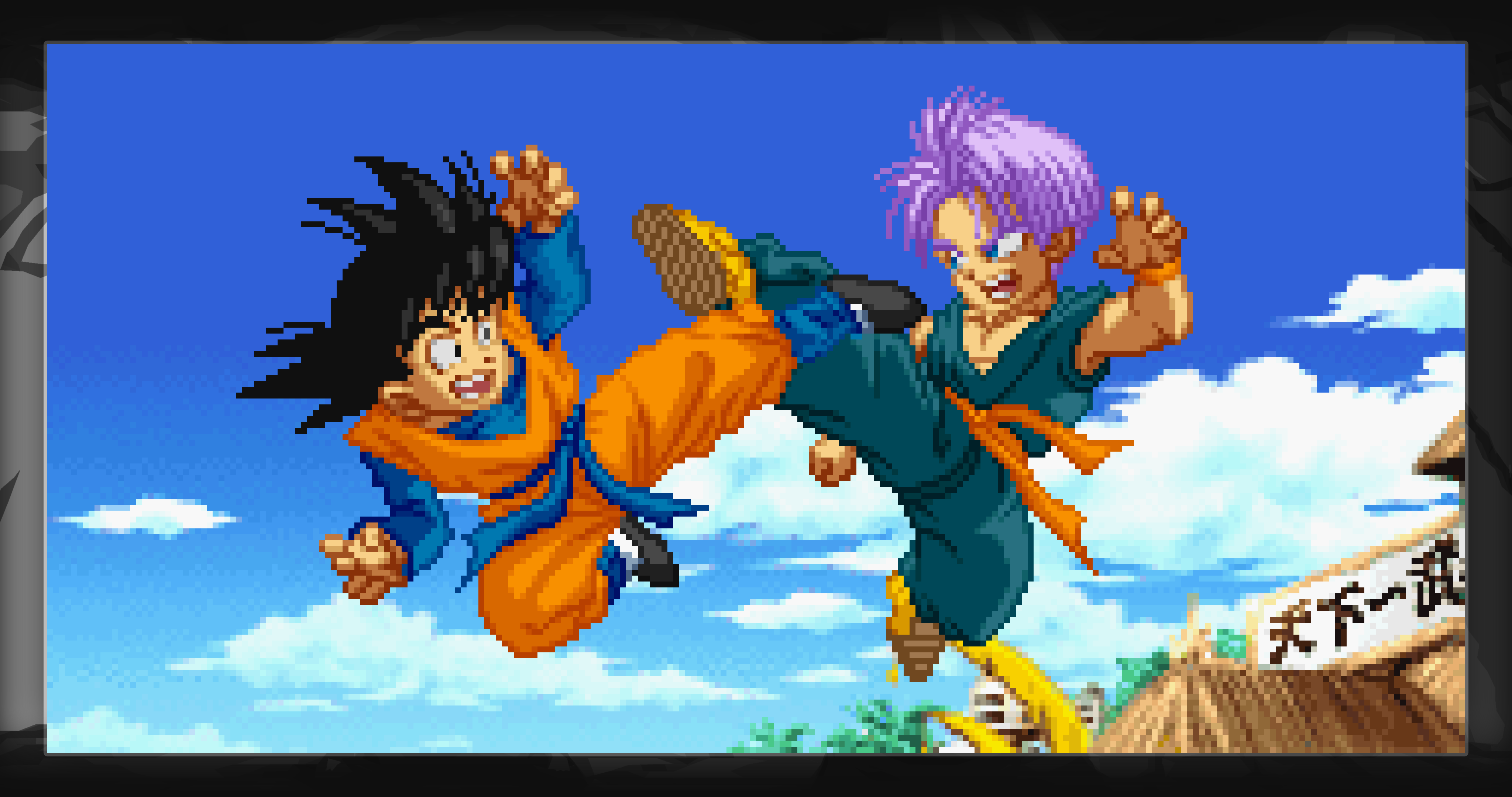 Dragon Ball Z Supersonic Warriors Goten Trunks 4k