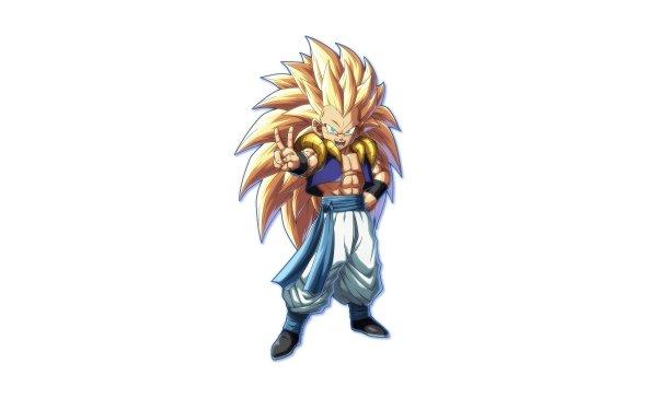 Video Game Dragon Ball FighterZ Dragon Ball Gotenks Super Saiyan 3 HD Wallpaper   Background Image