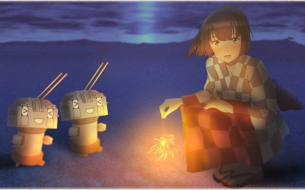 Anime Kantai Collection Akizuki HD Wallpaper   Background Image