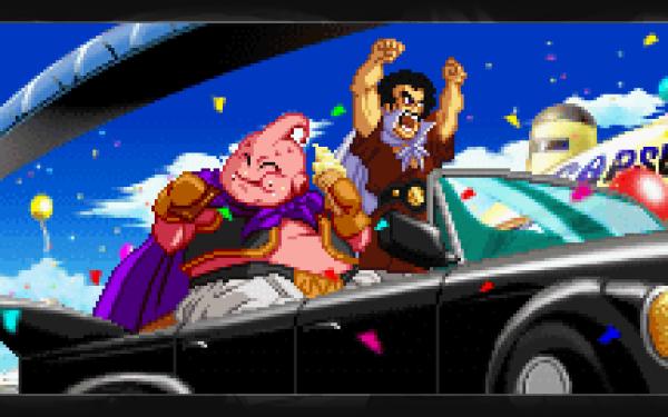 Anime Dragon Ball Z Dragon Ball Majin Buu Satan HD Wallpaper   Background Image