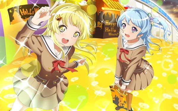 Anime BanG Dream! Girls Band Party! Kanon Matsubara Kokoro Tsurumaki Fondo de pantalla HD   Fondo de Escritorio