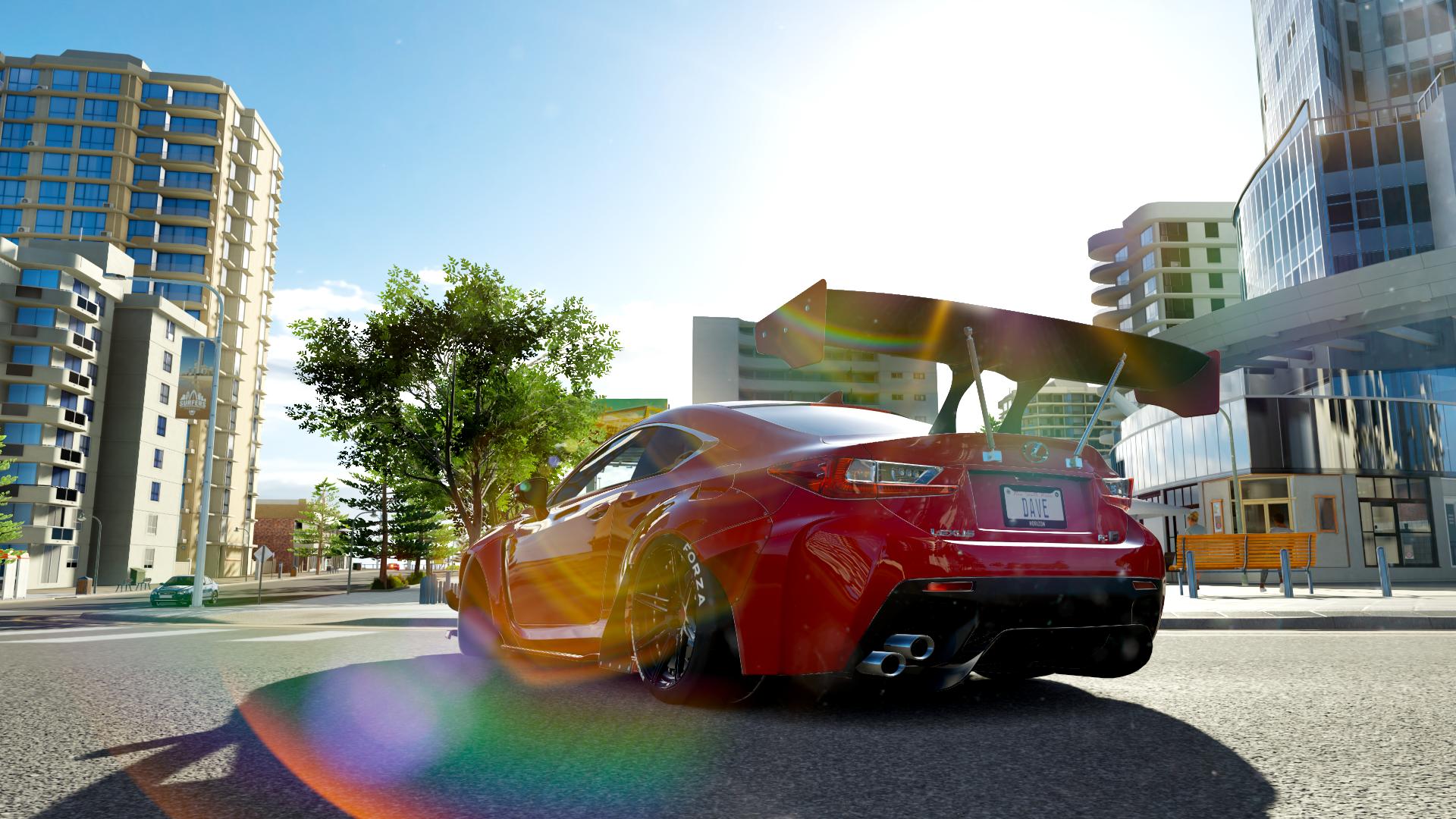 Rocket Bunny Lexus Rc F Hd Wallpaper Background Image