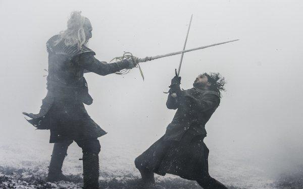 TV Show Game Of Thrones White Walker Jon Snow Kit Harington HD Wallpaper   Background Image
