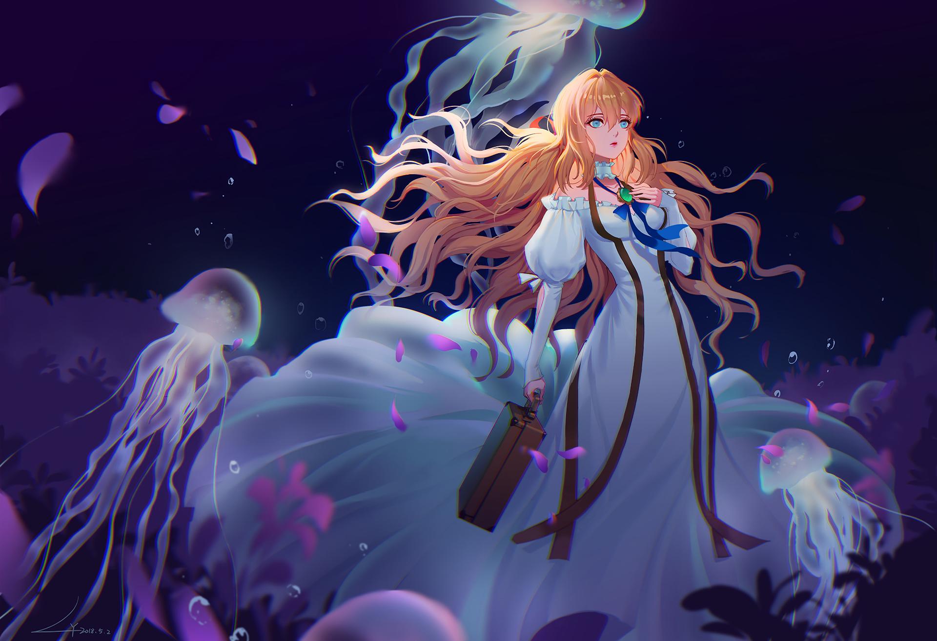 Violet Evergarden HD Wallpaper | Background Image ...