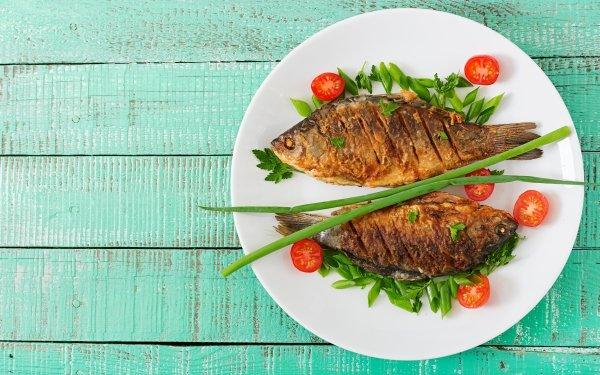 Food Fish Seafood Still Life HD Wallpaper | Background Image