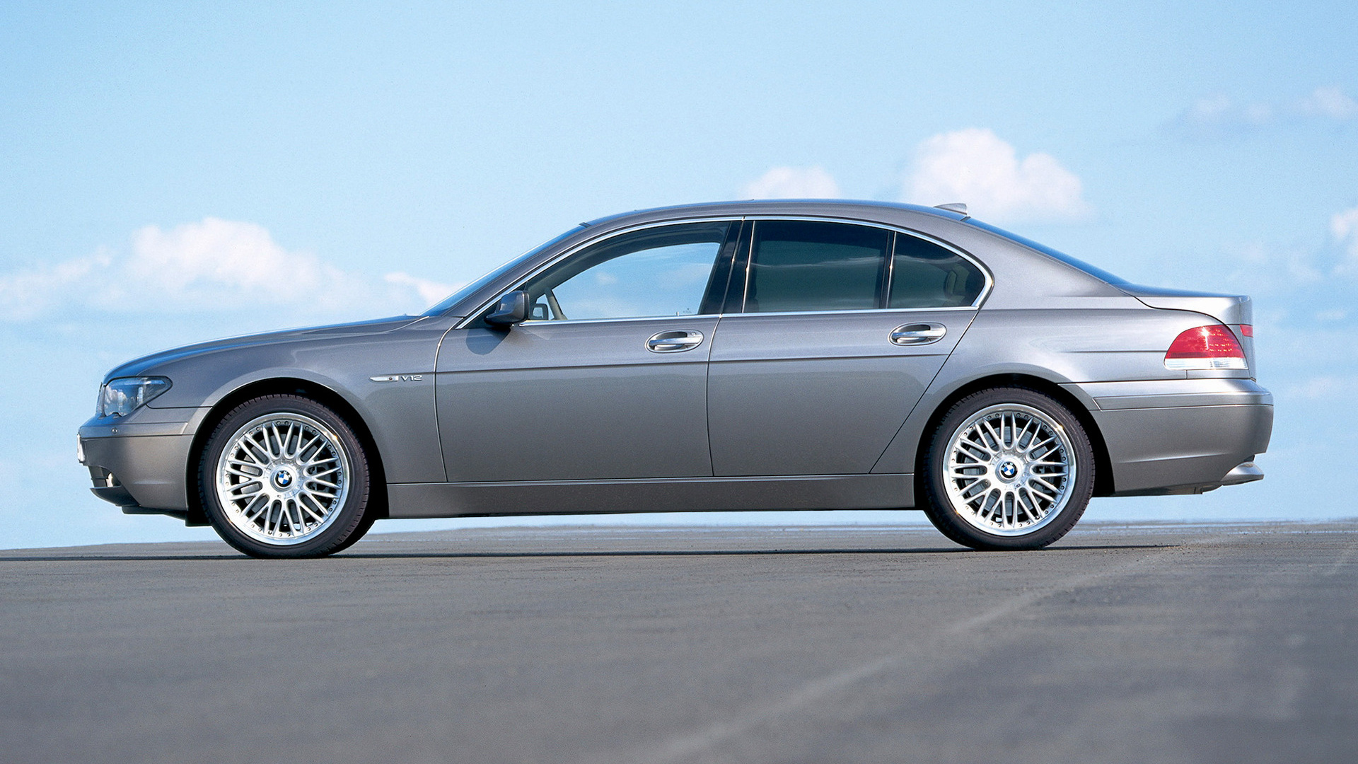 2003 BMW 760i Full HD Wallpaper And Background Image