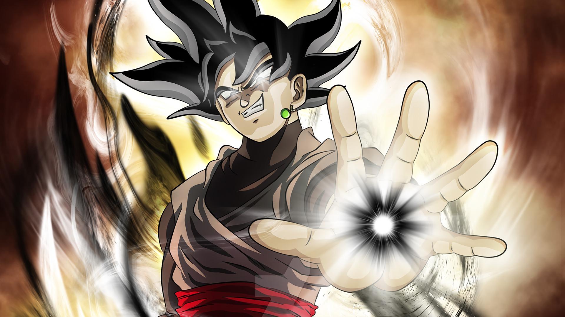 Dragon Ball Super Black Goku Hd Wallpaper Background Image