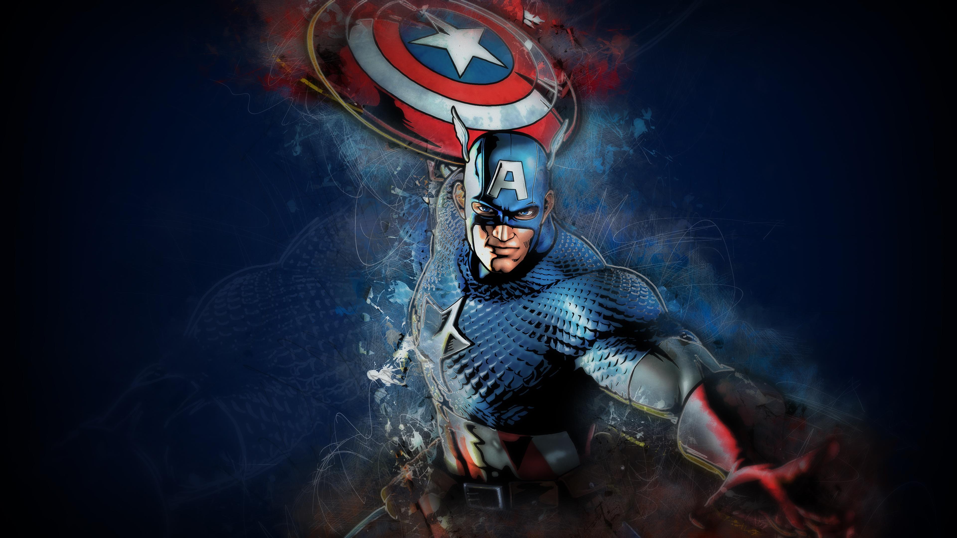 Captain America 4k Ultra Hd Wallpaper Background Image