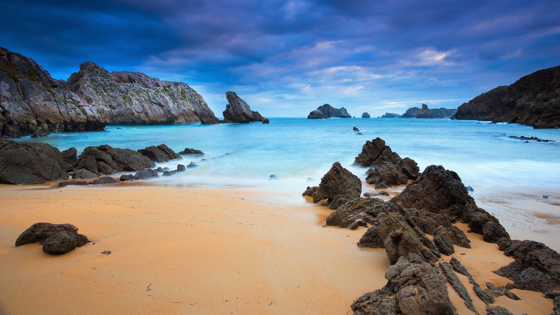 Wallpaper Rocky Beach Desktop Wallpapers: Low Tide On Rocky Beach 4k Ultra HD Wallpaper