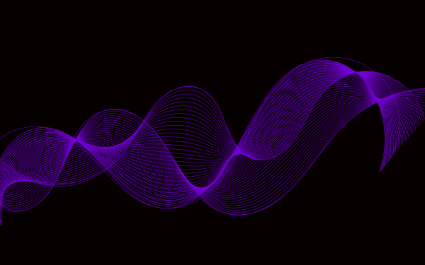 Abstract Purple Wave HD Wallpaper   Background Image