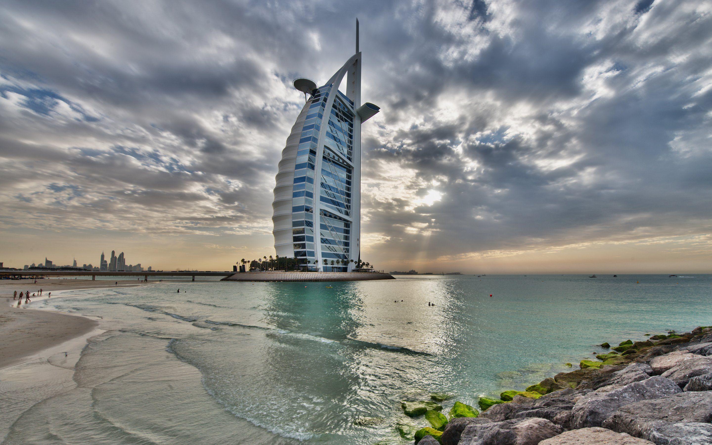 Burj Al Arab Dubai, United Arab Emirates HD Wallpaper