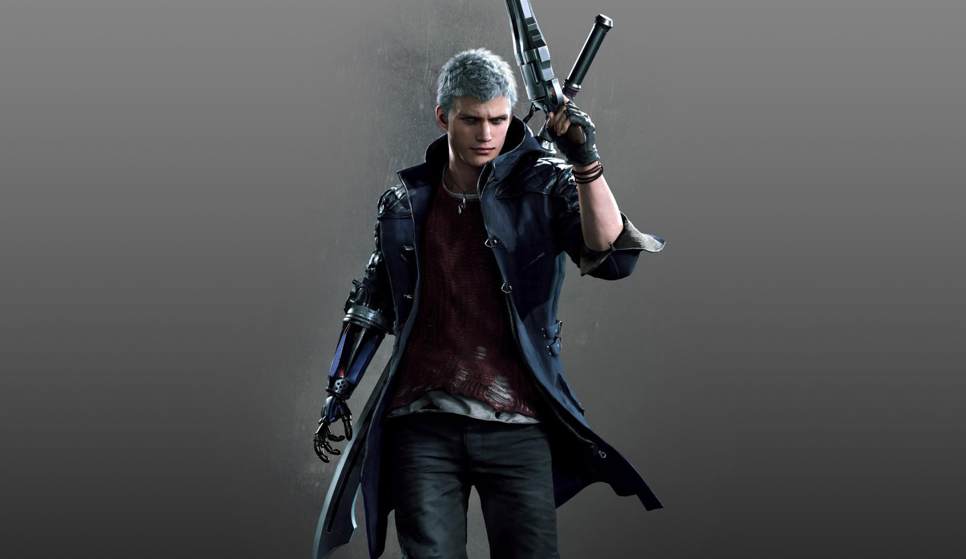Video Game - Devil May Cry 5  Nero (Devil May Cry) Wallpaper