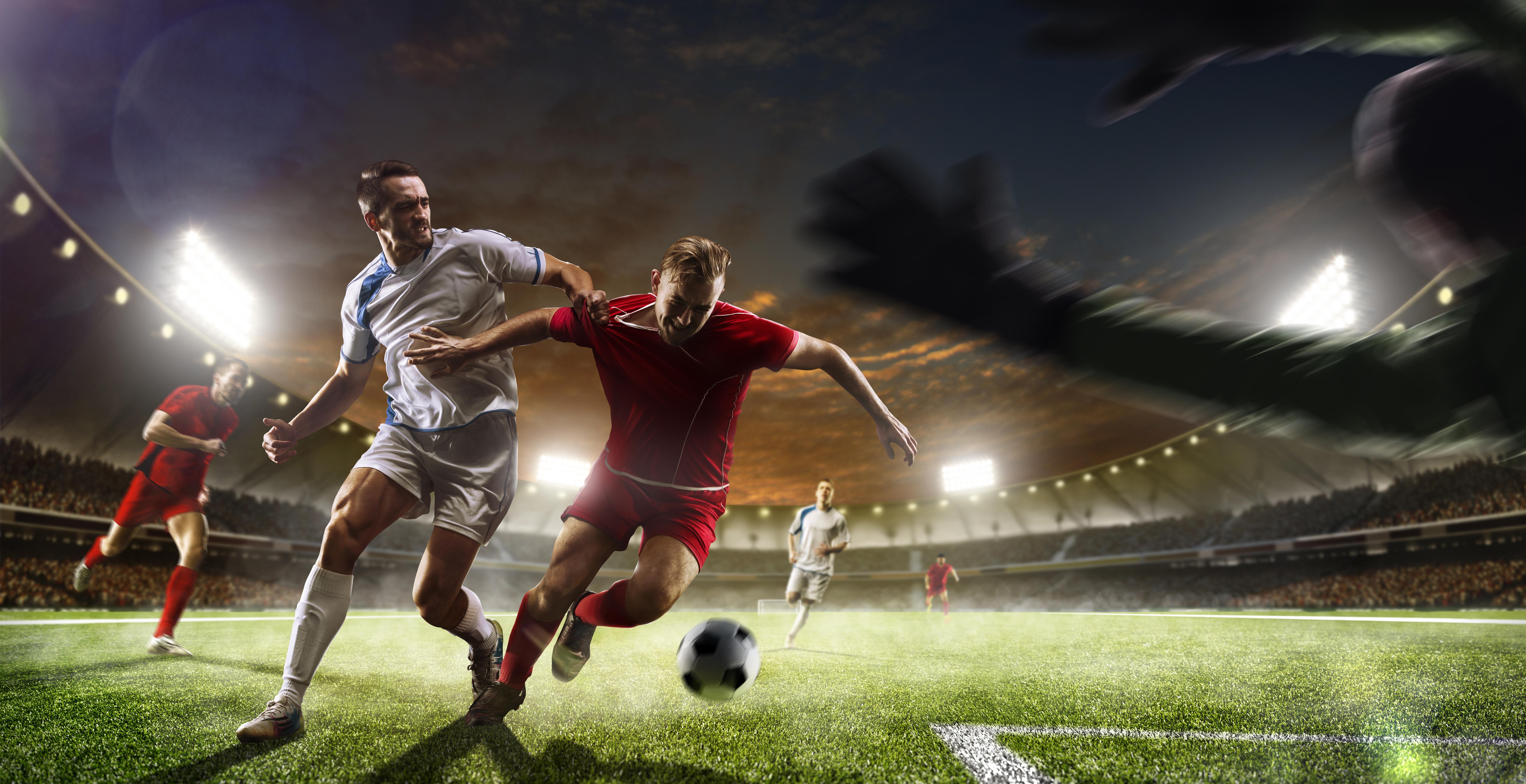 Fussball 5k Retina Ultra Hd Wallpaper Hintergrund